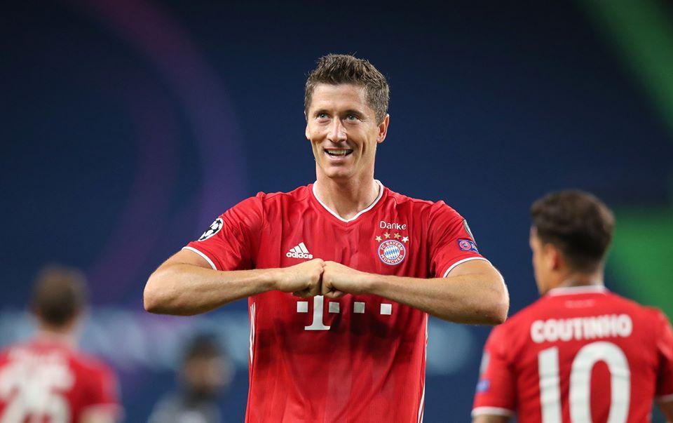 Lewandowski é eleito melhor jogador do mundo pela Fifa