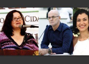 CONFIRMADOS. Terezinha Pereira, Coronel Carstens e Patrícia Parra – Divulgação