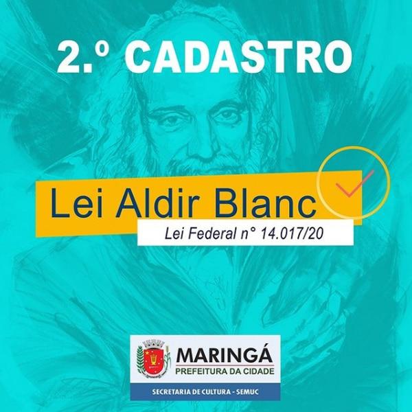 Lei Aldir Blanc 2 lote