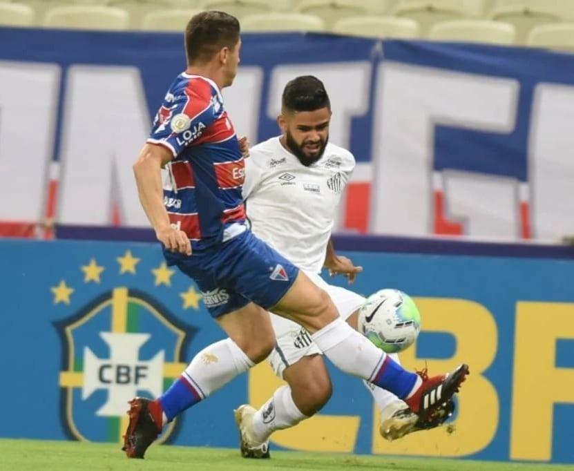 Santos perde para o Fortaleza no Castelão