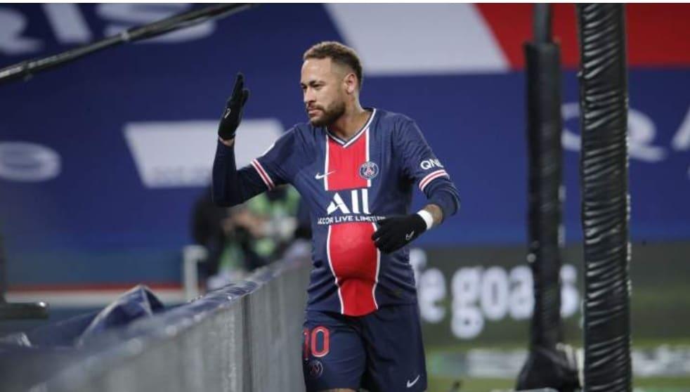 Neymar marca, PSG goleia e aumenta vantagem na liderança