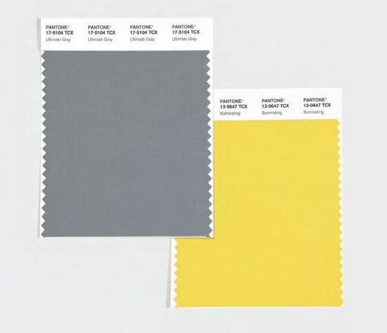 Firmeza e esperança: as cores do ano Pantone
