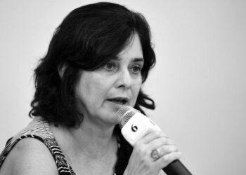 NÍSIA TRINDADE. A informação foi dada hoje pela presidente da Fiocruz —FOTO: PETER ILICCIEV/FIOCRUZ