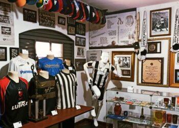 Com sede fixa há pouco mais de três anos, Museu Esportivo de Maringá tem acervo com mais de 5 mil itens (Crédito: Arquivo/MEM)