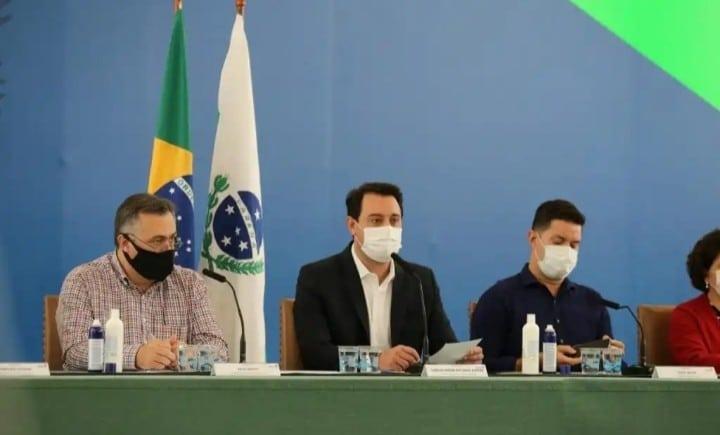 Lockdown no Paraná: circulação de pessoas é proibida das 20h às 05h por 9 dias