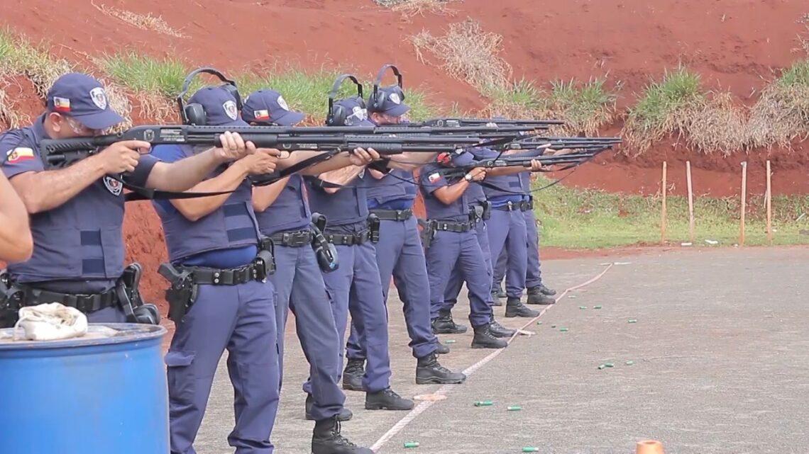Agentes municipais receberam treinamento em escola da Polícia Militar (Foto: Arquivo/Equipe Pinga Fogo)