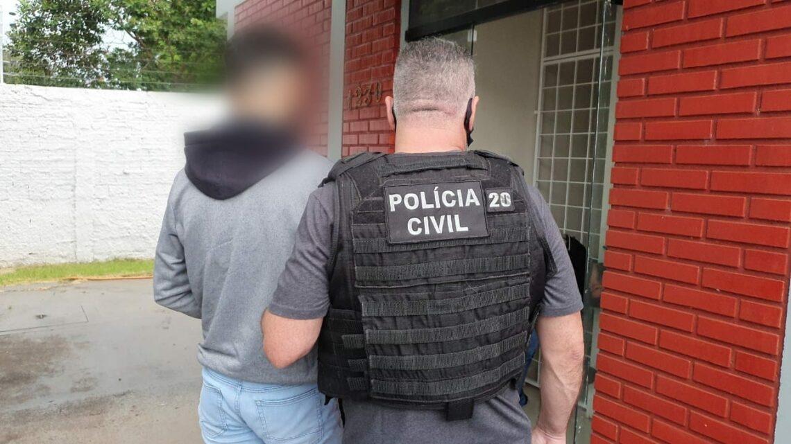 Suspeito detido por estupro disse à polícia que é portador do vírus HIV (Foto: Repórter Corujão/Equipe Pinga Fogo)