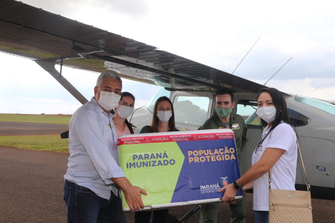 5.960 imunizantes em combate ao coronavírus chegam em Maringá
