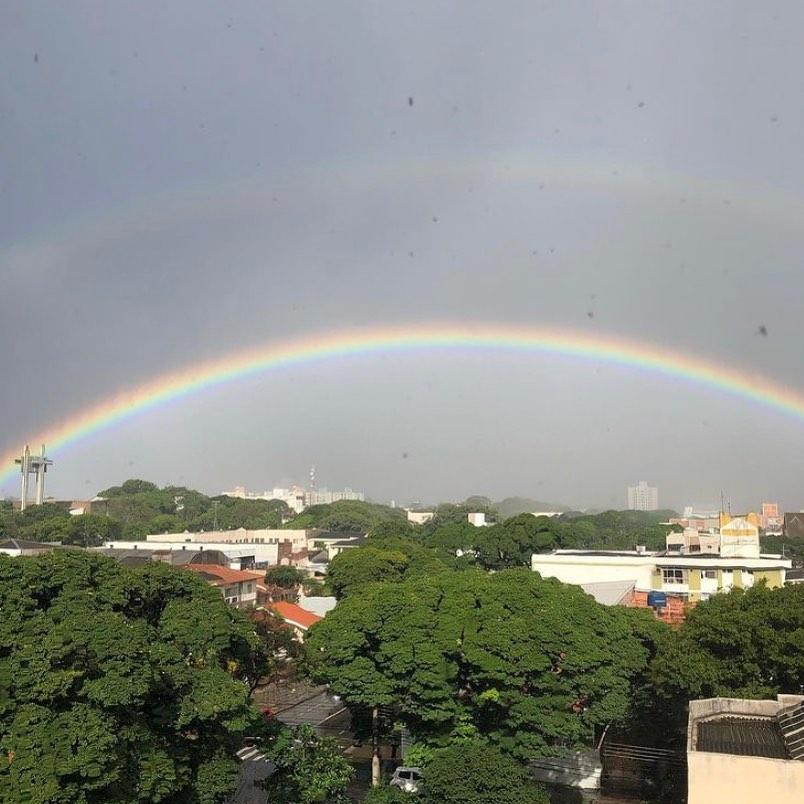 Quarta-feira em Maringá será de céu nublado e pancadas de chuva