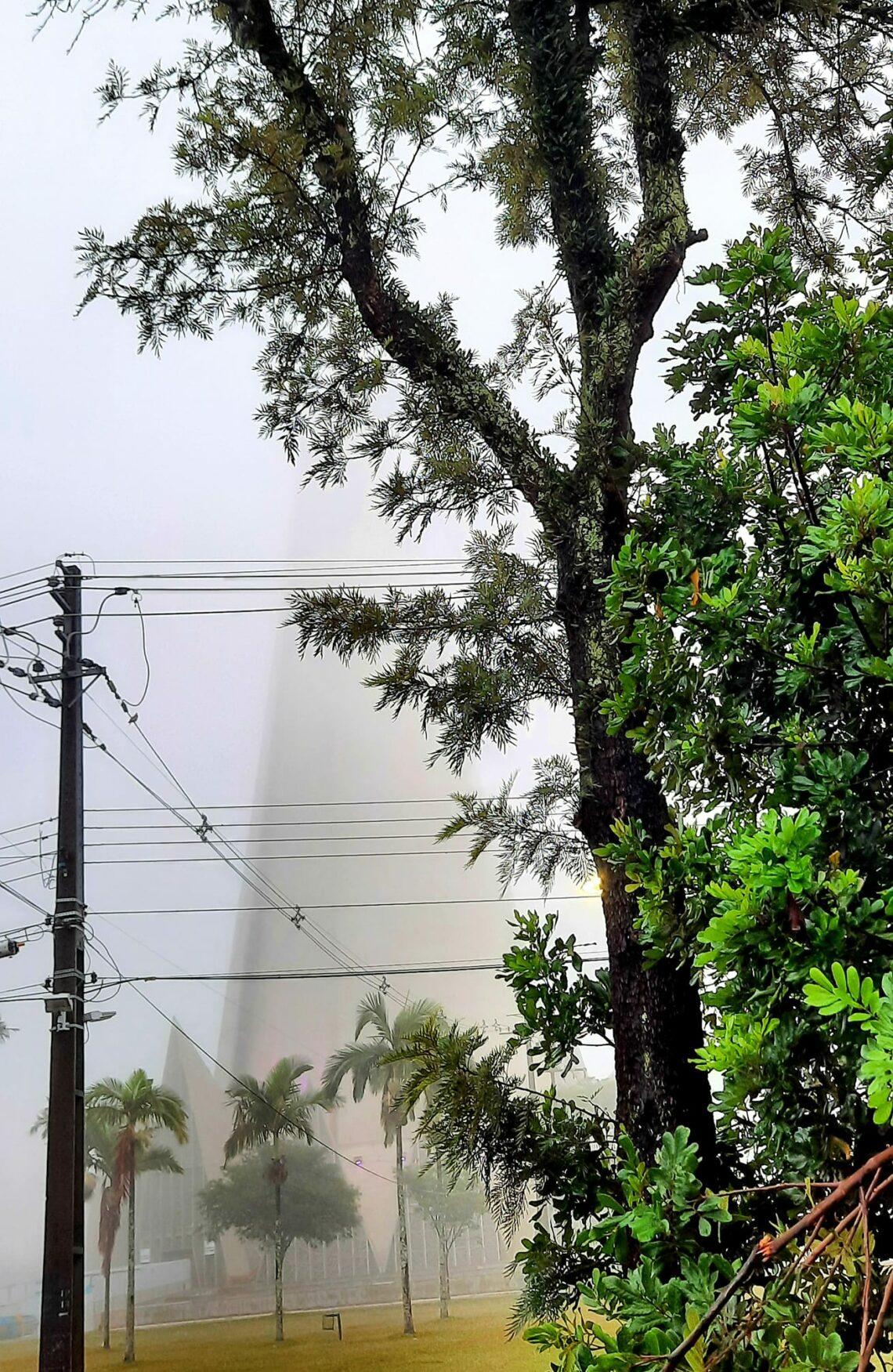 Quinta-feira em Maringá será de céu nublado