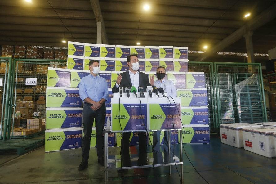Campanha com cidades do Paraná para imunizar de domingo a domingo é lançada pelo Governo do Estado