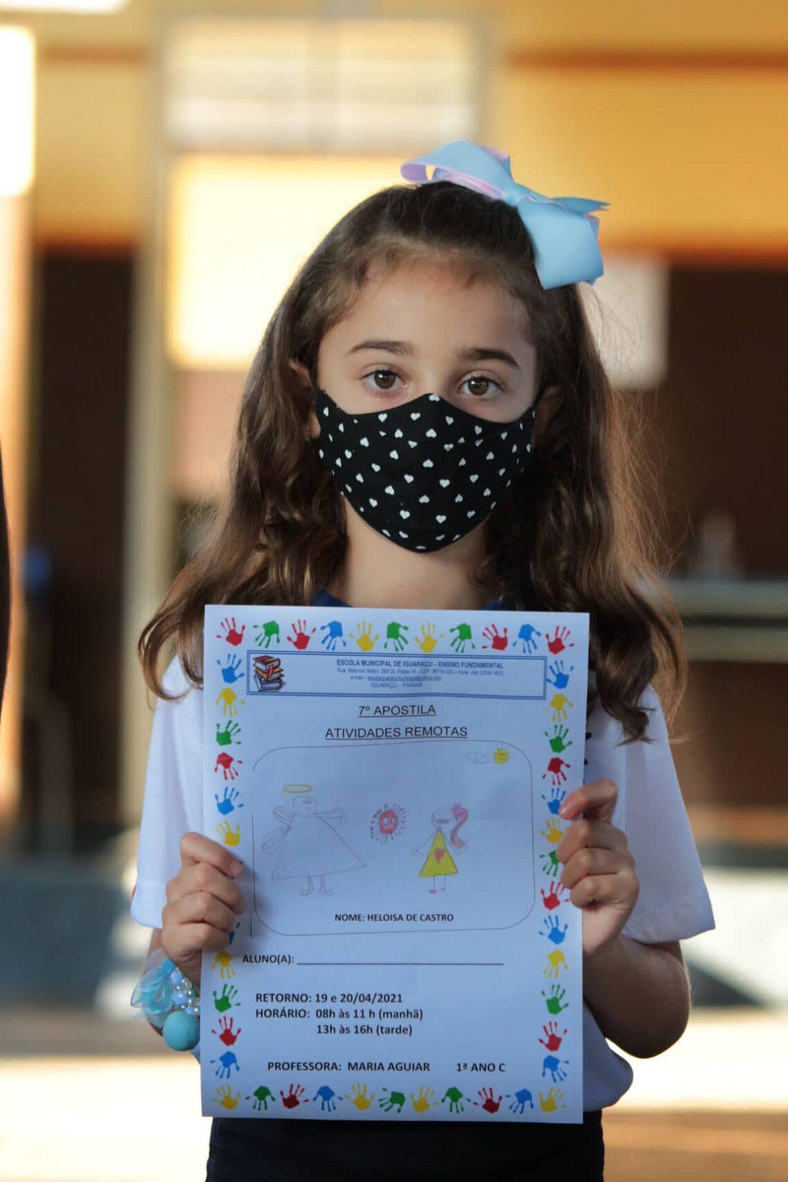 Escola Municipal de Iguaraçu promove concurso de desenho