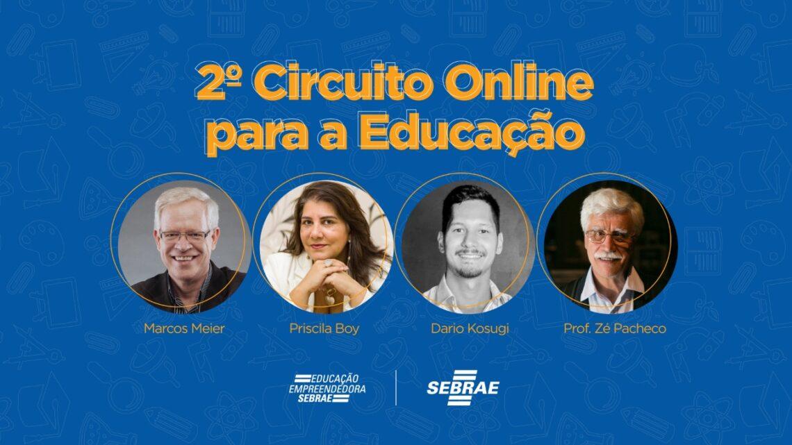 Sebrae/PR abre inscrições para 2º Circuito Online para a Educação