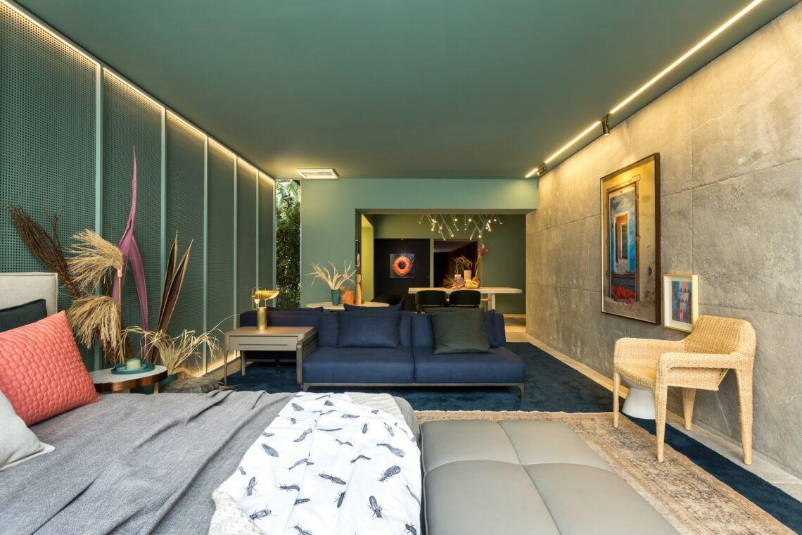 Projeto: Loft 5 Senses - Talita Nogueira Arquitetura / Foto: Eduardo Macarios - ArchDaily