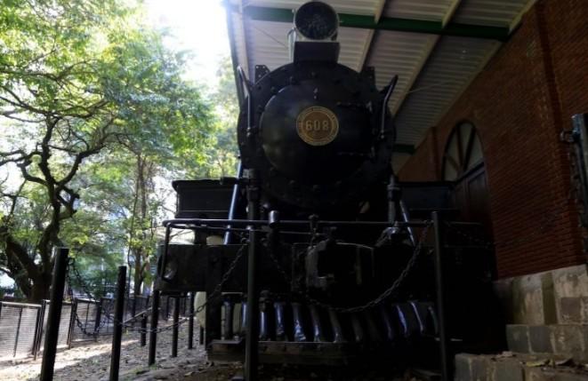 Maria fumaça é tombada como patrimônio histórico de Maringá