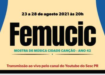 Estão abertas as inscrições para a 42a edição do Festival de música de Maringá
