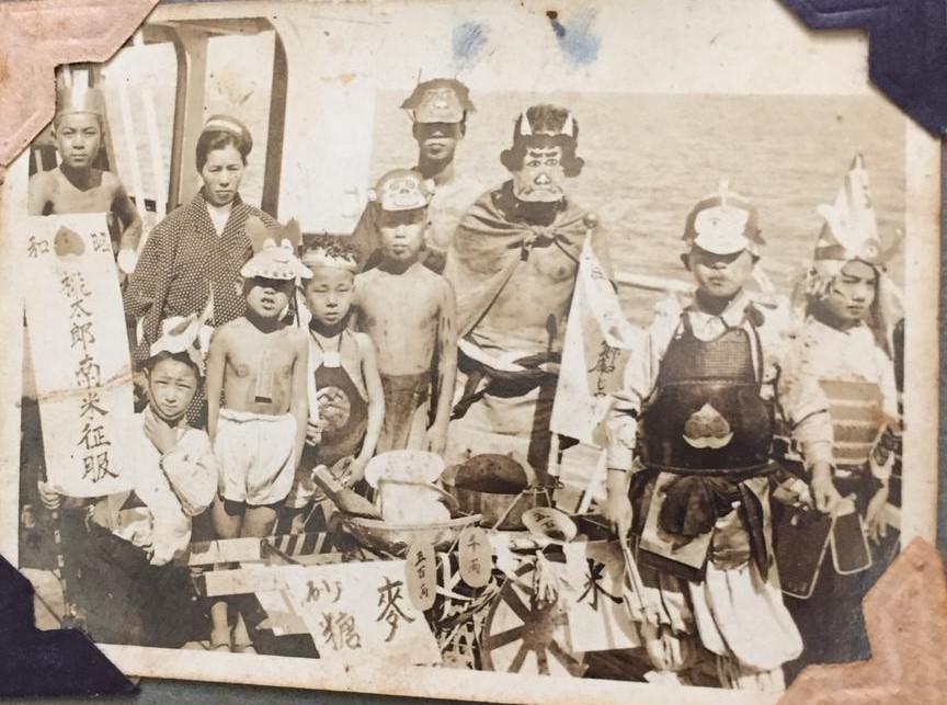 Tsuneyuki Sakamoto chegando ao Brasil em 28/02/1937 a bordo do Montevideo-Maru