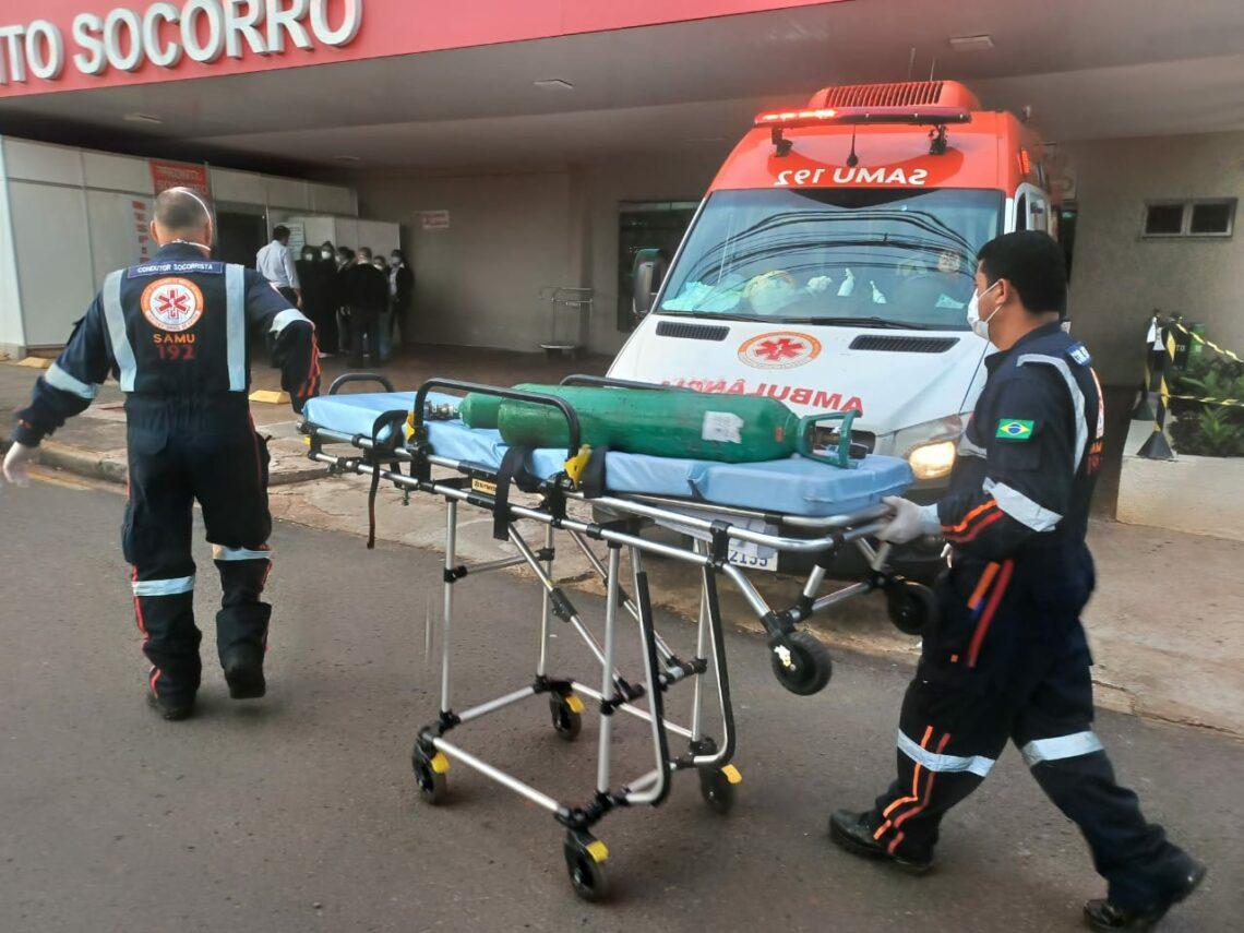 Hospital Paraná tem falha técnica na rede de transmissão de oxigênio