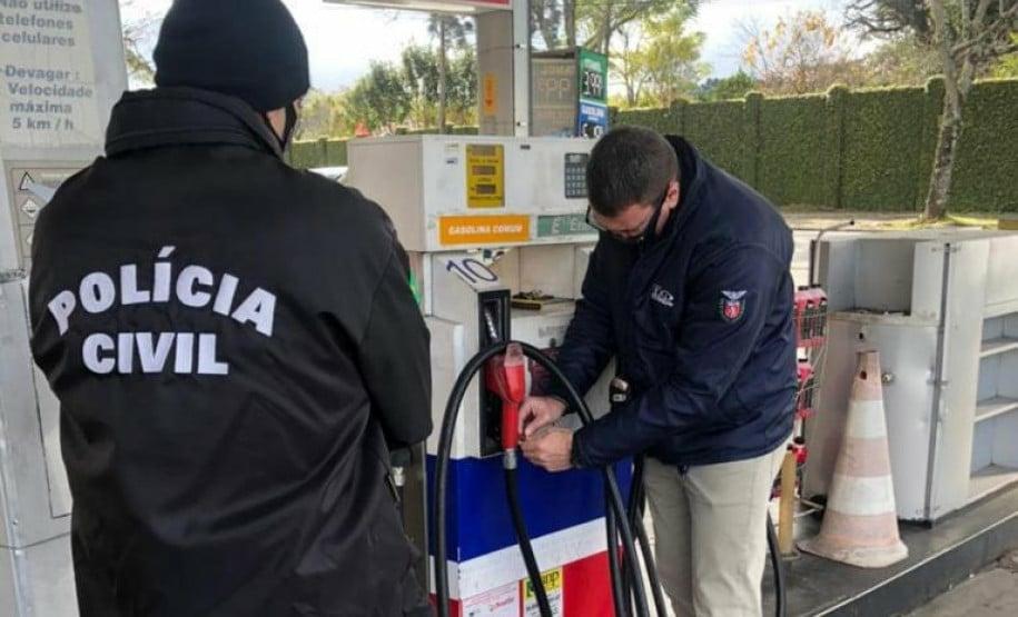 Força-tarefa fiscaliza 300 postos de combustíveis no Paraná