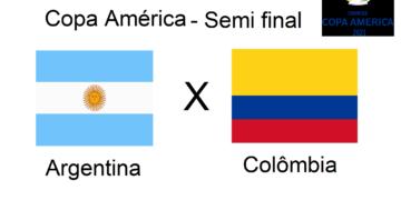 Copa América: Argentina x Colômbia