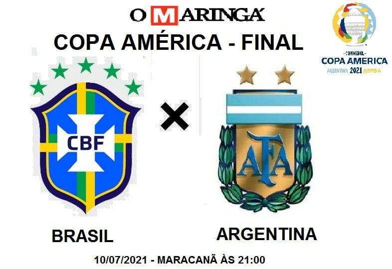 copa América: Brasil x Argentina