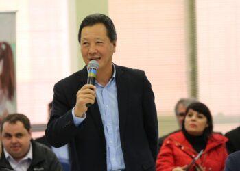 Deputado federal Luiz Nishimori é membro da Frente parlamentar do cooperativismo