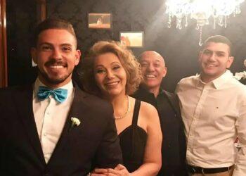 Natalina Aparecida Gatti Gomes com o marido Cleber dos Santos Gomes e os filhos Fellipe e Luccas - Foto: arquivo pessoal