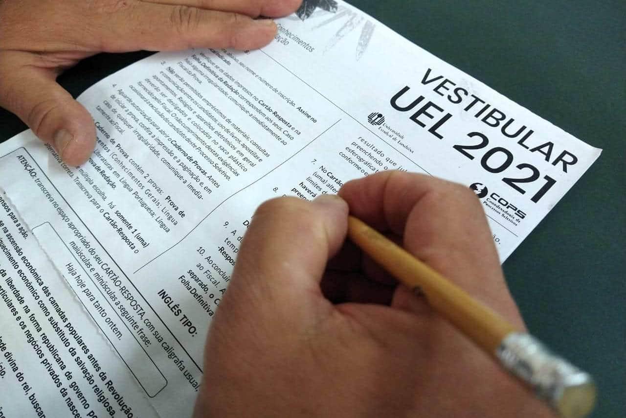 UEL divulga 2ª convocação do Vestibular 2021 nesta terça-feira