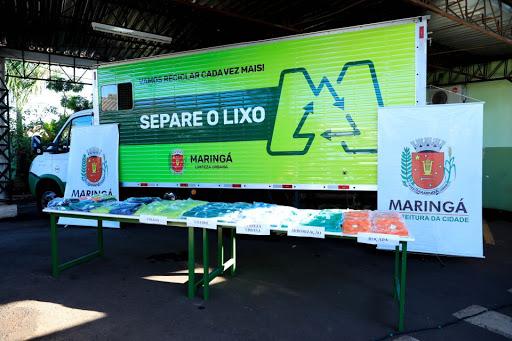 Prefeitura de Maringá por meio da Secretaria de Limpeza Urbana já recebeu 50 solicitações de descarte pelo WhatsApp
