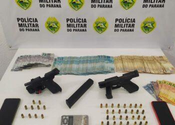 Polícia Militar cumpre mandado de prisão no Jardim Alvorada em Maringá
