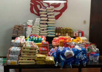 Projeto Nosso Lar arrecada alimentos para famílias carentes