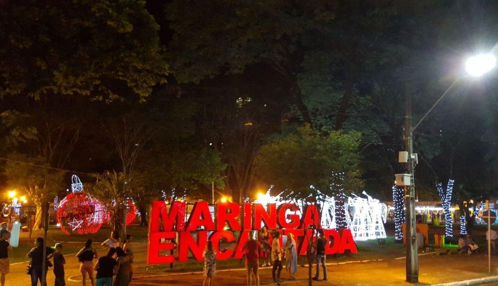 Empresa paulista vence licitação para iluminação especial de Natal em Maringá