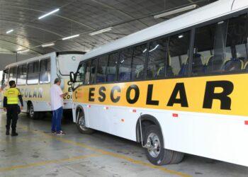 Vans escolares passarão por vistorias até sexta-feira (27) em Maringá