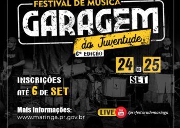 Festival Garagem da Juventude abre espaço para jovens na música