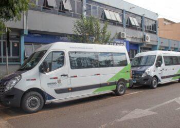Sarandi realiza entrega de duas Vans destinadas a Secretaria de Saúde