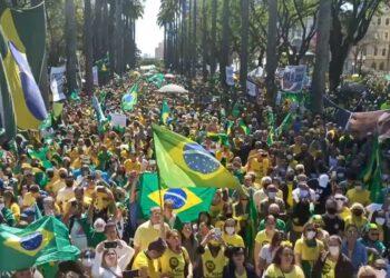 Voto impresso: brasileiros saem às ruas em apoio ao presidente Jair Bolsonaro