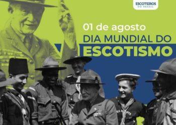 1° de agosto – Dia Mundial do Escotismo