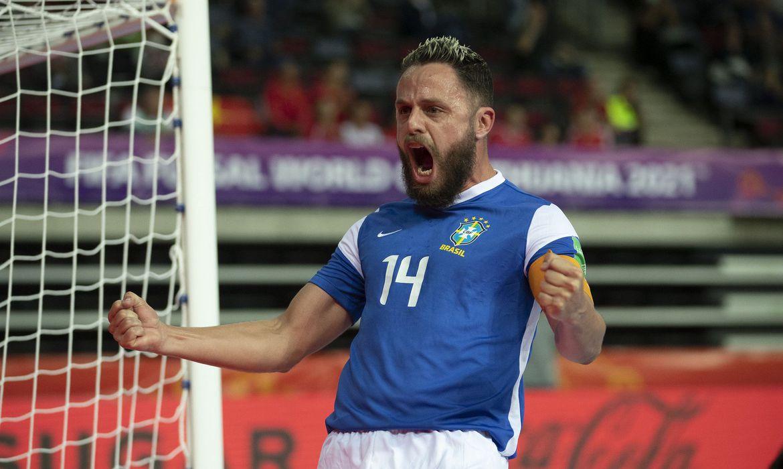 Futsal: Brasil foca em retomar hegemonia
