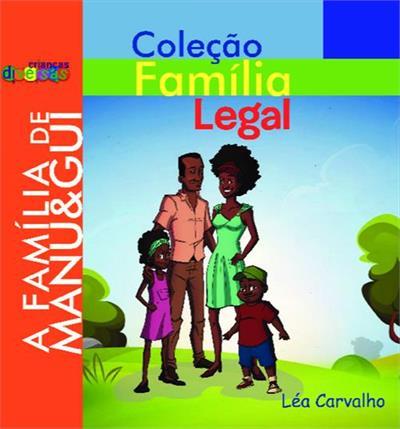 Família legal em crianças diversas