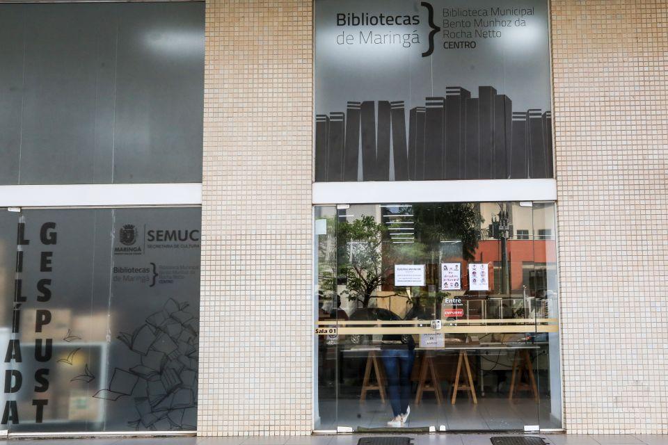 Bibliotecas municipais de Maringá voltam a funcionar a partir desta segunda-feira