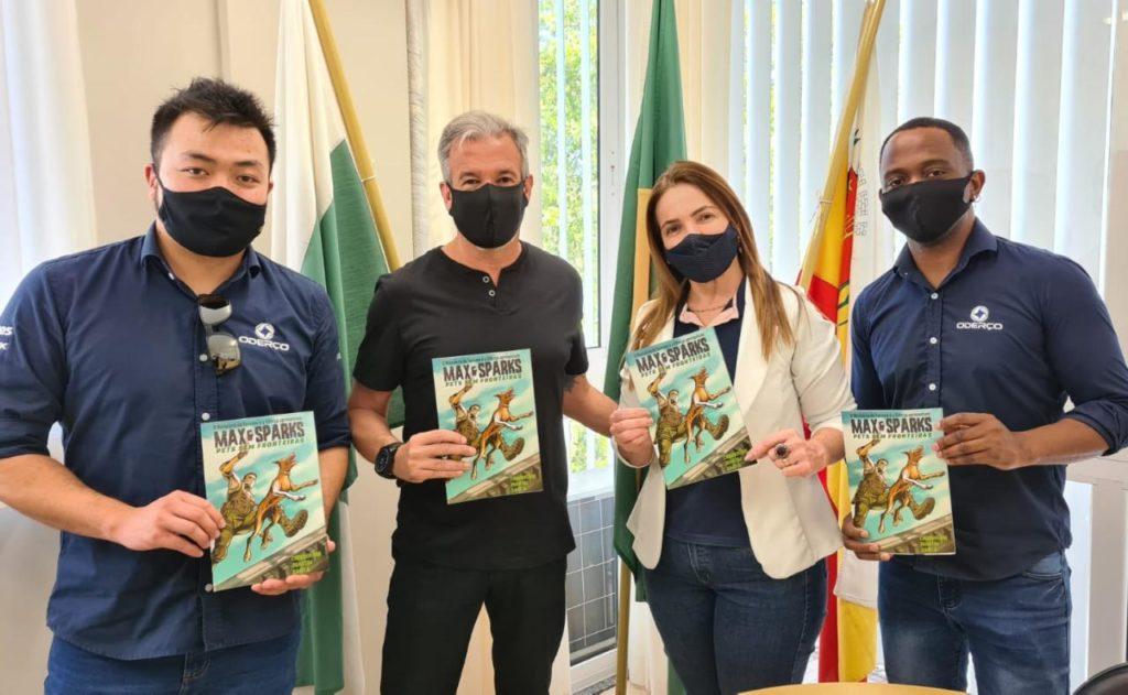Secretarias de Maringá apoiam projeto cultural da ONG Pets Sem Fronteiras