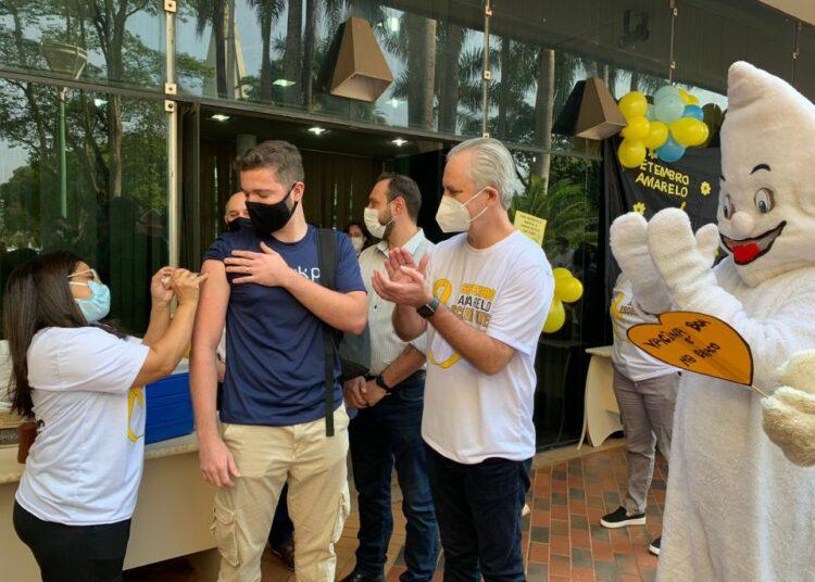 Prefeitura de Maringá realiza o Open Vacina para o público 18+