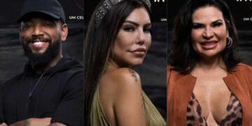 Nego do Borel, Liziane Gutierrez e Solange Gomes disputam roça em A Fazenda; saiba quem deve sair