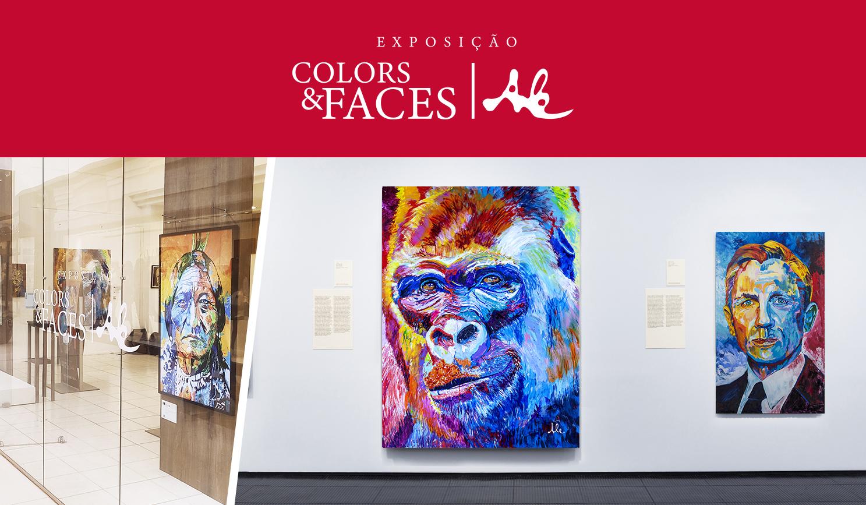 Exposição Colors & Faces