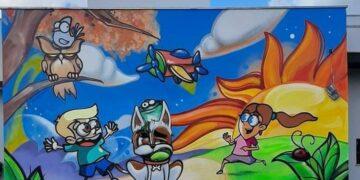 Arte no grafite: A conexão dos olhos com o mundo