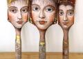 Arte nos pinceis de Alexandra Dillon