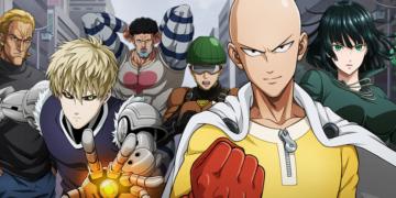O poderoso Saitama, de One Punch-Man!!!